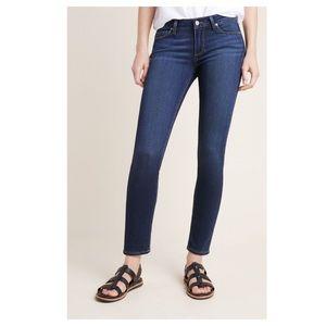Paige Verdugo Ankle Stretch Skinny Jeans dark